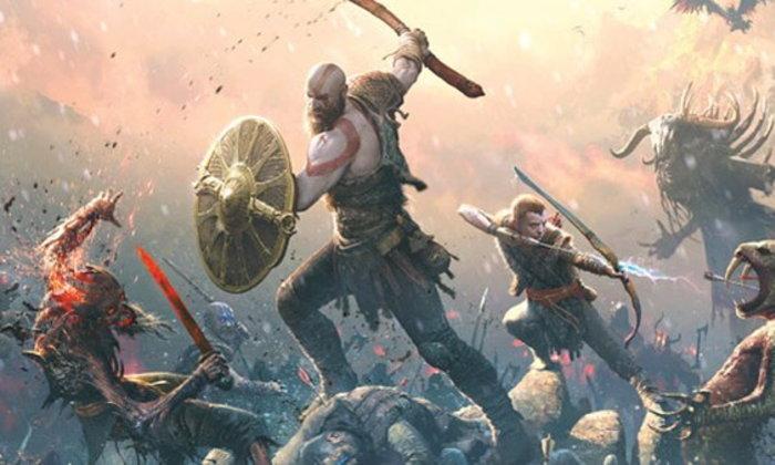 ชมโฆษณาเกม God of War PS4 ที่เปลี่ยนสนามบาส ให้กลายเป็นสนามรบ