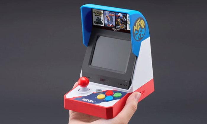 มาแล้วเครื่องเกม Neo Geo Mini วางขายซัมเมอร์นี้ในญี่ปุ่น