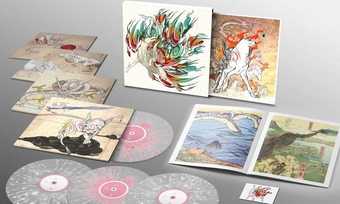 Capcom เผยชุดสะสม Okami Soundtrack Vinyl Boxset