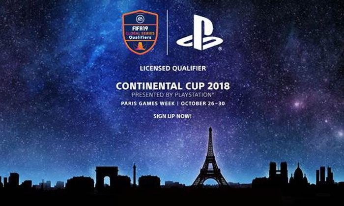 PlayStation จัดงาน Continental Cup 2018 ณ Paris Games Week