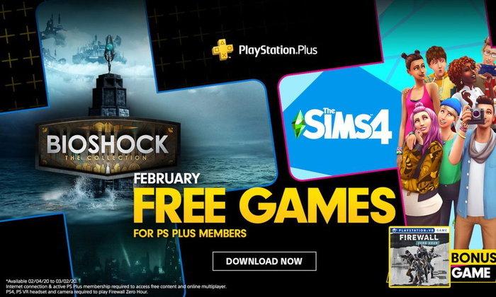 Sony เผยรายชื่อเกมฟรีของชาว PS Plus ประจำเดือนกุมภาพันธ์ 2020