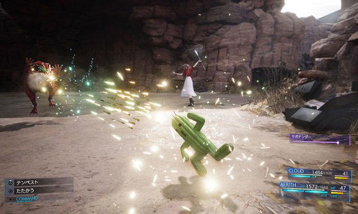 งานขายต้องมา! Final Fantasy VII Remake โชว์ตัวอย่างมนต์อสูรจาก DLC
