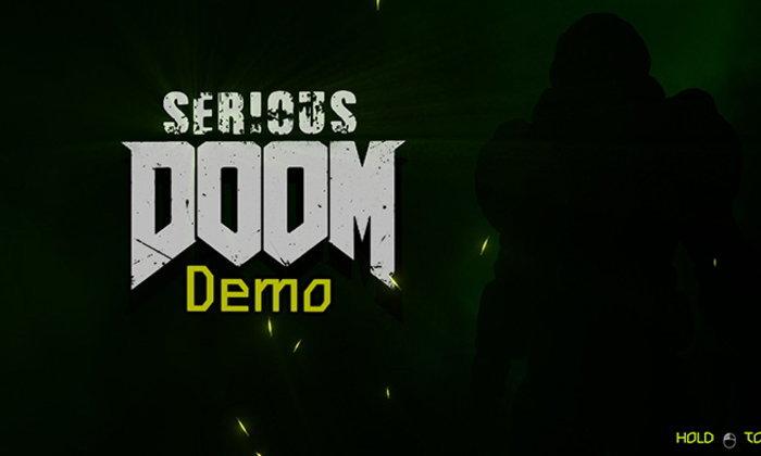 มาชม Mod จากเกม Serious Sam Fusion ทำเป็นฉากนรกแบบ DOOM
