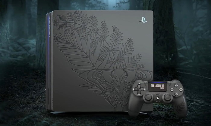 Sony เปิดตัวเครื่อง Limited PS4 Pro สลักลาย The Last of US Part II