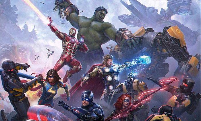 Marvel s Avengers เผยภาพชุดตัวละครที่สามารถเปลี่ยนได้ในเกม