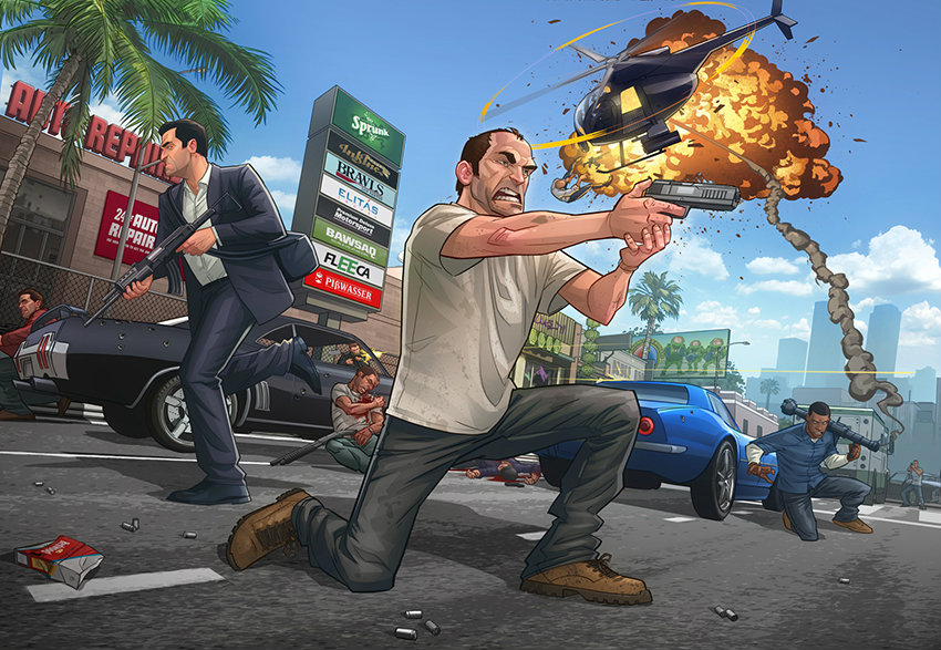 ลือ GTA V ของ PC จะมีโหมดเล่นแบบ First Person
