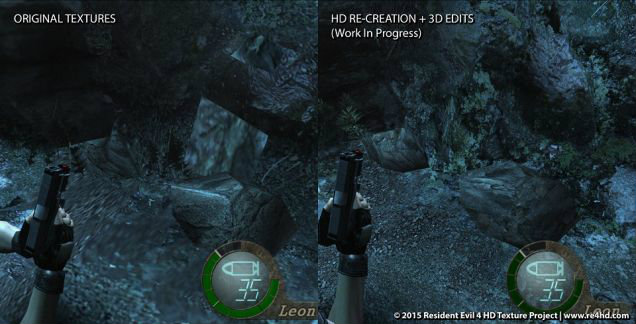 Resident Evil 4 HD แฟนๆทำเองไม่ง้อ Capcom