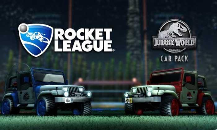 รถในภาพยนตร์ Jurassic World โผล่ในเกม Rocket League