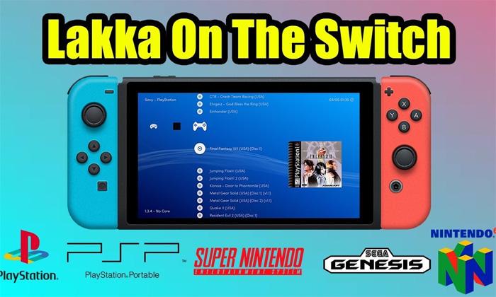 สายมืดเฮ! Nintendo Switch เจาะให้เล่น Emulator ได้เกือบทุกเครื่องแล้ว