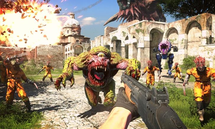 Serious Sam 4 เกมยิงแหลกแจกกระสุนเผยตัวอย่าง Gameplay