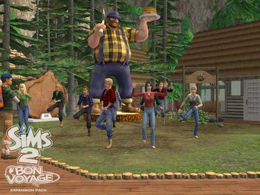 expanso the sims 2 vida noturna
