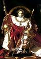 นโปเลียน โบนาปาร์ต สถาปนาตนเองขึ้นเป็นจักรพรรดิฝรั่งเศส
