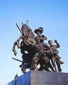 สมเด็จพระเจ้าตากสินมหาราช ปราบดาภิเษกเป็นกษัตริย์ เสด็จขึ้นเถลิงถวัลย์ราชสมบัติ ณ กรุงธนบุรี