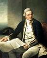 กัปตัน เจมส์ คุก นักเดินเรือชาวอังกฤษ ค้นพบหมู่เกาะฮาวาย
