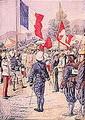 ไทยทำสัญญาการปักปันเขตแดนระหว่างไทยกับกัมพูชาและเมืองหลวงพระบางของฝรั่งเศส
