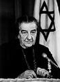 โกลดา แมร์ (Golda Meir) ได้รับการเลือกตั้งให้เป็นนายกรัฐมนตรีหญิงคนแรกของประเทศอิสราเอล