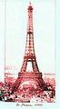 พิธีเปิดหอไอเฟล สัญลักษณ์สำคัญของกรุงปารีส ประเทศฝรั่งเศส