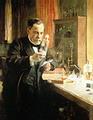 หลุยส์ ปาสเตอร์ นักเคมีชาวฝรั่งเศสทดสอบวัคซีนป้องกันโรคพิษสุนัขบ้าสำเร็จ