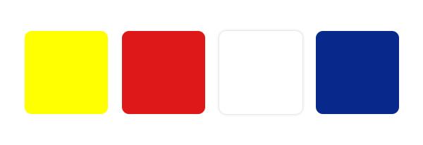 สีที่ใช้ในตราสัญลักษณ์อาเซียน