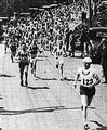 การแข่งขัน บอสตัน มาราธอน (Boston Marathon) ครั้งแรกที่เมืองบอสตัน สหรัฐอเมริกา