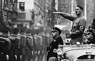 อดอล์ฟ ฮิตเลอร์ (Adolf Hitler) ผู้นำเผด็จการชาวเยอรมัน