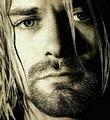เคิร์ธ โคเบน (Kurt Donald Cobain) นักร้องนำวง เนอร์วานา (Nirvana)