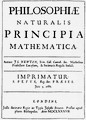 """""""Philosophiae Naturalis Principia Mathematica"""" หรือ """"Principia"""