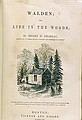 วอลเดน (Walden หรือ Life in the Woods)