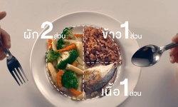 """""""ลดความอ้วน"""" ด้วยเทคนิกการกินแบบ 2:1:1"""