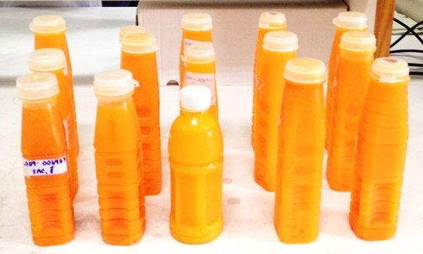 ตรวจน้ำส้มคั้นบรรจุขวด พบไม่ผ่านเกณฑ์มาตรฐานทุกตัวอย่าง