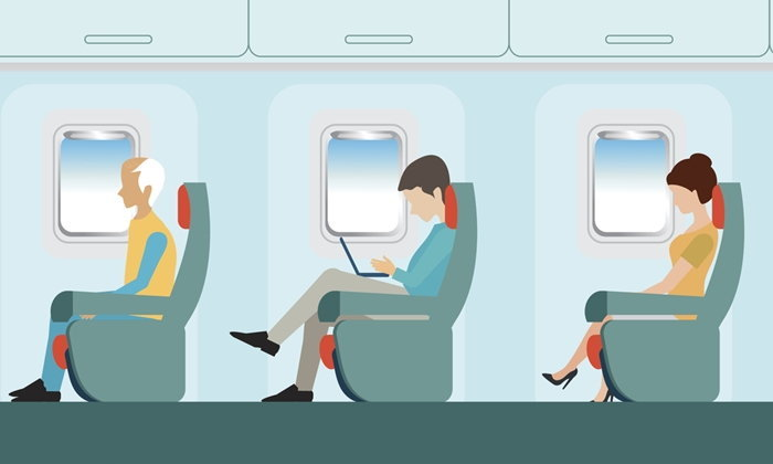 5 จุดบนเครื่องบินที่สกปรก-พบเชื้อโรคมากที่สุด