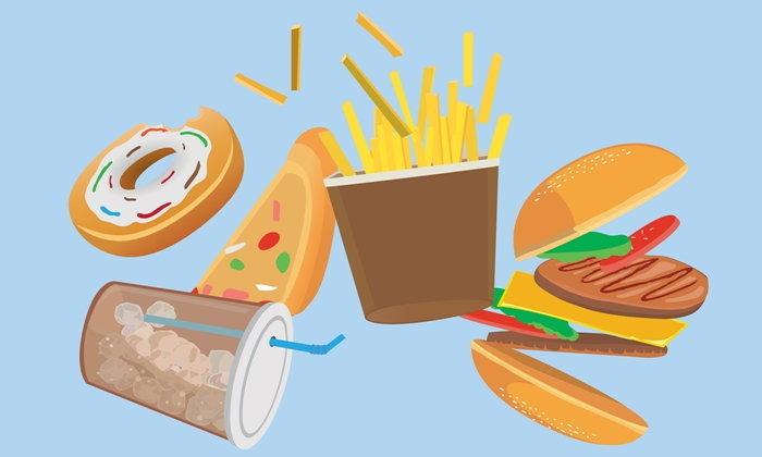 ปริมาณไขมันทรานส์ในอาหาร ยิ่งสูงยิ่งเสี่ยงโรค