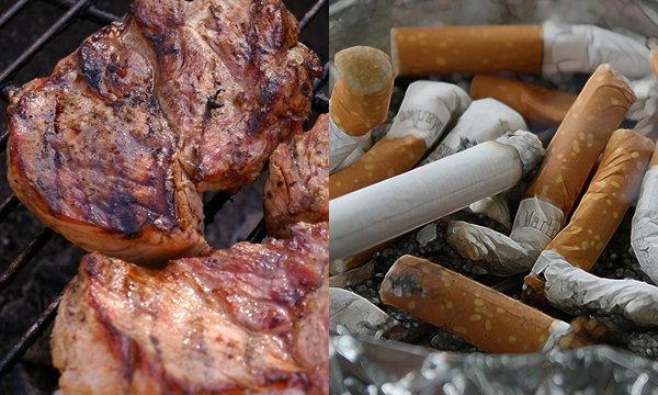จริงหรือไม่? เนื้อย่าง 1 กิโล มีสารก่อมะเร็งเท่าบุหรี่ 600 มวน!!