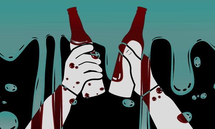 """จุดจบสายเหล้า! อาเจียน-ถ่ายเป็นเลือด เพราะ """"เลือดออกในทางเดินอาหาร"""""""