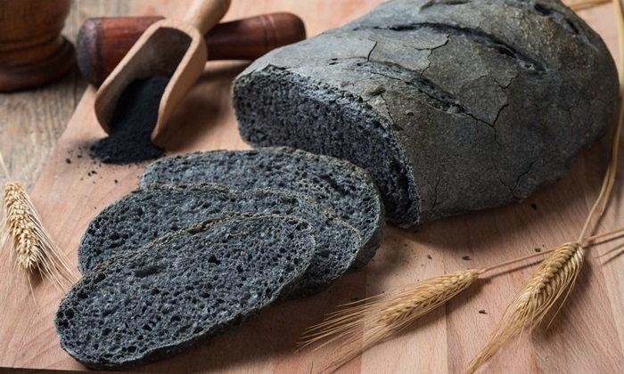 charcoal-bread