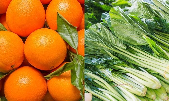 """""""ส้ม-กวางตุ้ง"""" ติดอันดับผักผลไม้พบสารเคมีตกค้างมากที่สุด"""