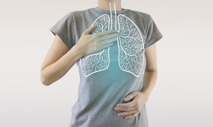 """ปัจจัยเสี่ยง """"มะเร็งปอด"""" ไม่สูบบุหรี่ก็เสี่ยงได้"""