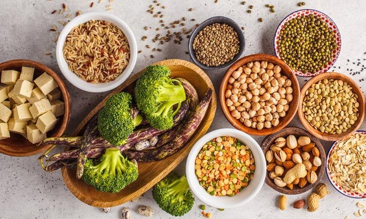 """สุดยอด """"โปรตีนจากพืช"""" ที่เหล่ามังสวิรัติต้องหลงรัก"""
