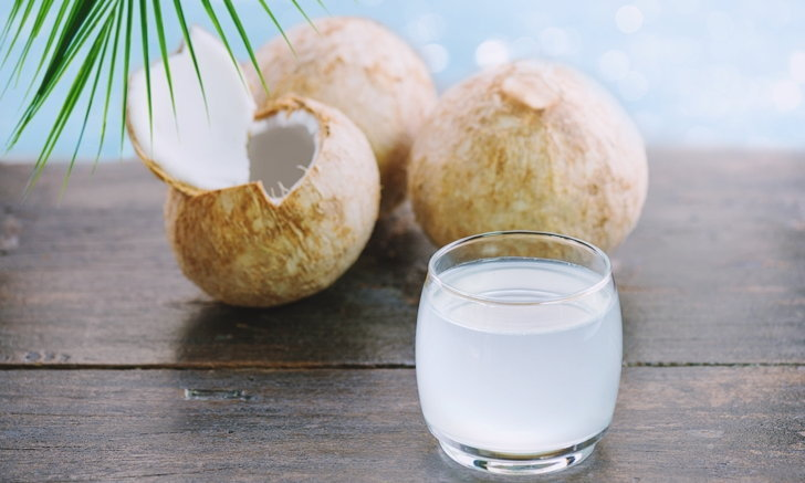 Coconut water is one of the most popular fruit