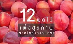 12 ผลไม้เพื่อสุขภาพจากโครงการหลวง