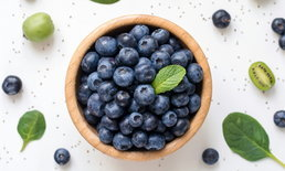 """7 คุณประโยชน์ของ """"บลูเบอร์รี่"""" ผลไม้ลูกจิ๋วแต่แจ๋วที่สุดในตระกูลเบอร์รี่"""