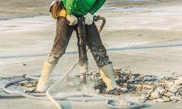 """อาชีพก่อสร้าง-คนงานผลิตน้ำแข็ง เสี่ยง """"โรคจากความสั่นสะเทือน"""""""