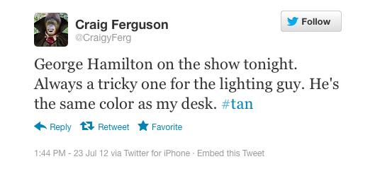Craig Ferguson, talk show host: iPhone