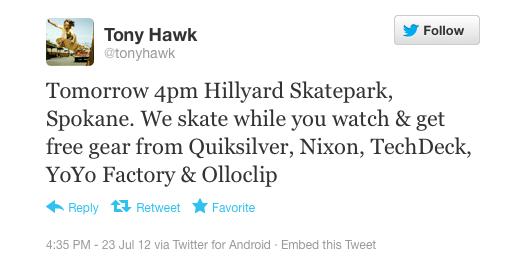 Tony Hawk, skateboarder: Android