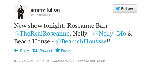Jimmy Fallon, comedian: iPhone