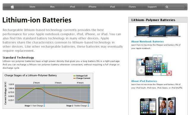 Apple - Batteries