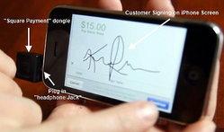 Square เปลี่ยนไอโฟนเป็นเครื่องรูดบัตร
