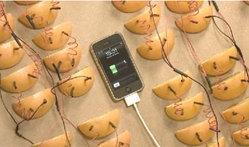 ต้องใช้ส้มกี่ผลเพื่อชาร์จแบตฯไอโฟน?