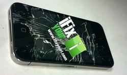 อ้าว!! Apple งานเข้า เมื่อ iPhone 4 จอแตกซะแล้วววว