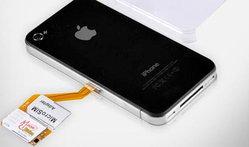 ในที่สุด iPhone 4 ก็ใช้งาน 2 ซิมได้แล้ว !!